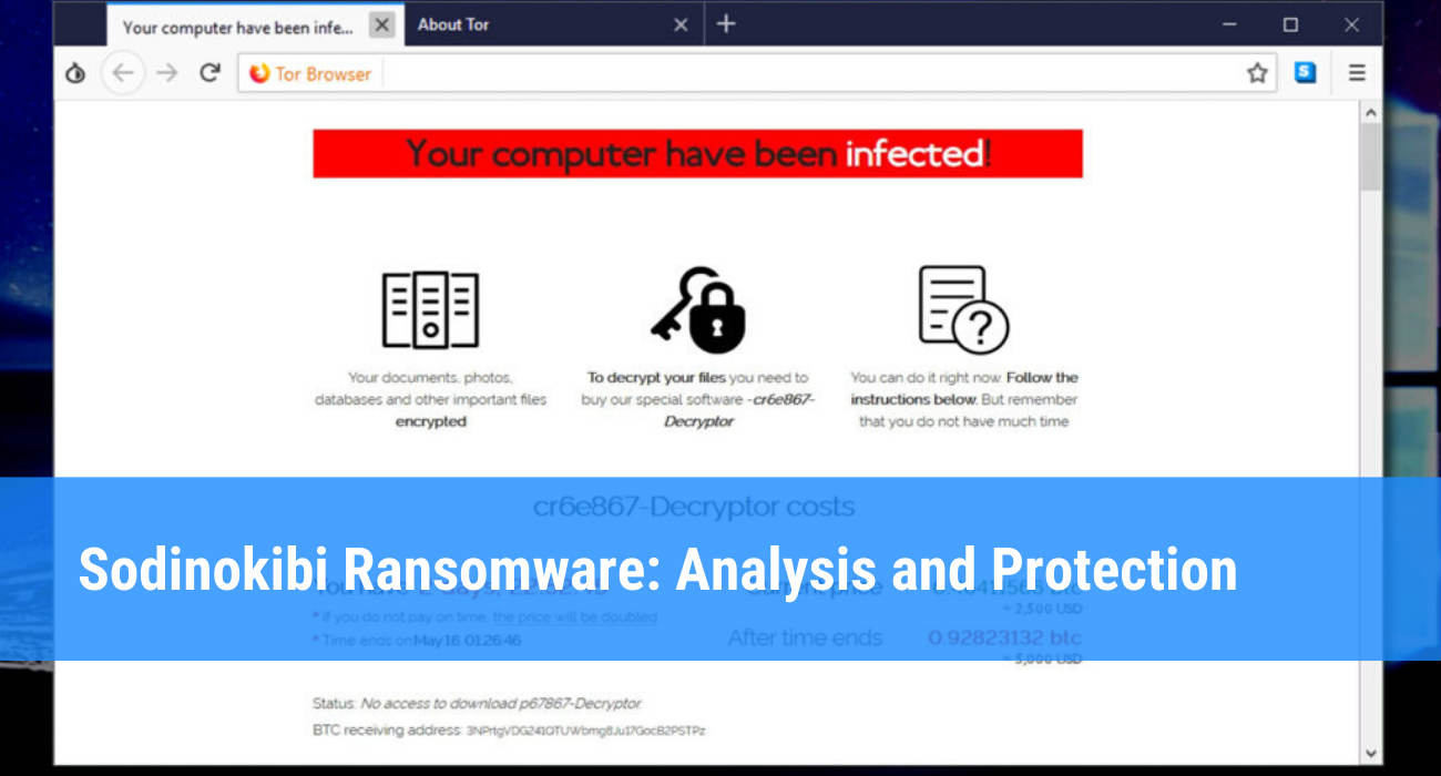 sodinokibi ransomware
