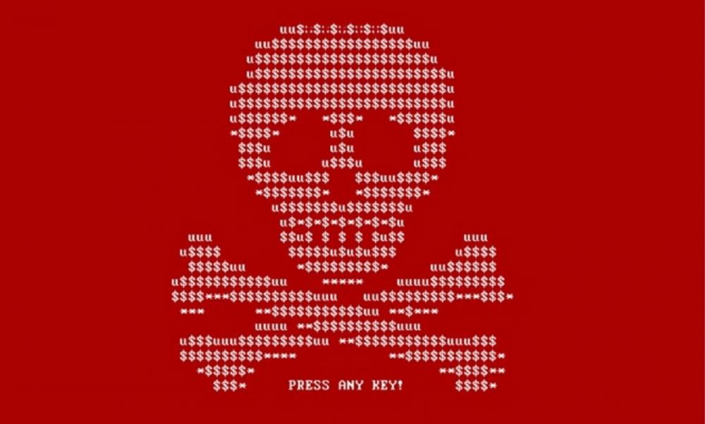 Petya ransomware note