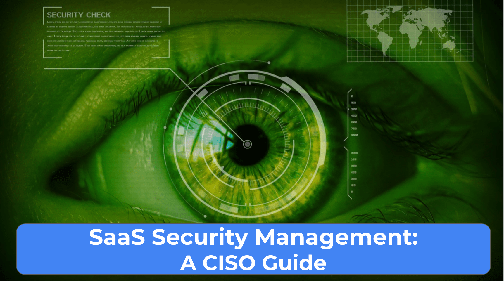 SaaS Security Management- a CISO Guide