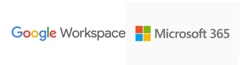Google Workspace and Microsoft 365